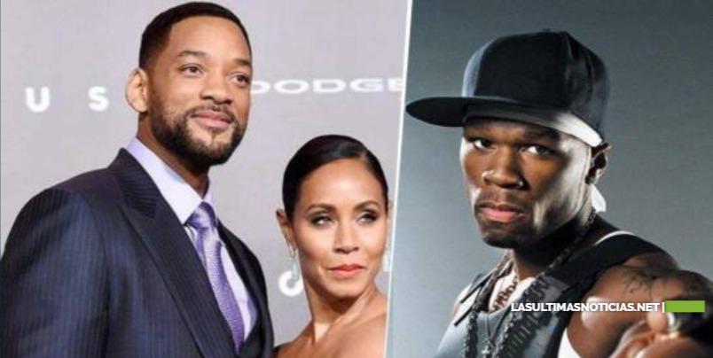 """Will Smith y 50 Cent enfrentados por culpa de la """"infidelidad"""" de Jada"""