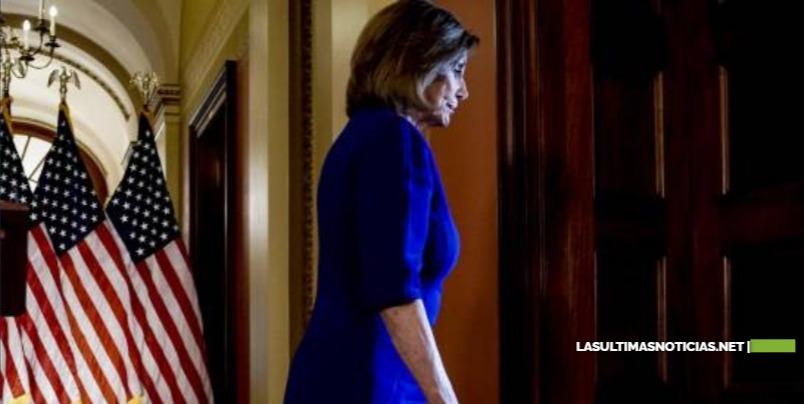 Nancy Pelosi: Trump se irá de la Casa Blanca aunque no quiera
