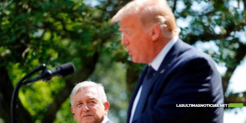"""Donald Trump dice frente a López Obrador que los mexicanos son """"gente fantástica'"""""""