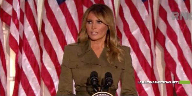 Melania Trump suaviza el agresivo discurso republicano
