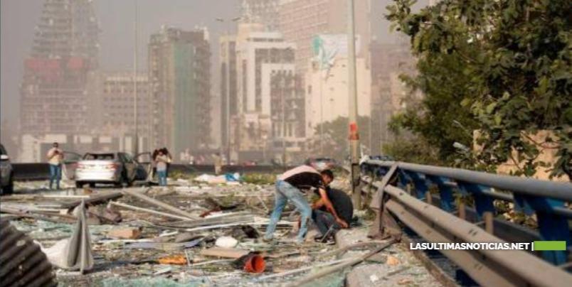 Ministro de Salud de Líbano dice que hay más de 60 muertos por explosión