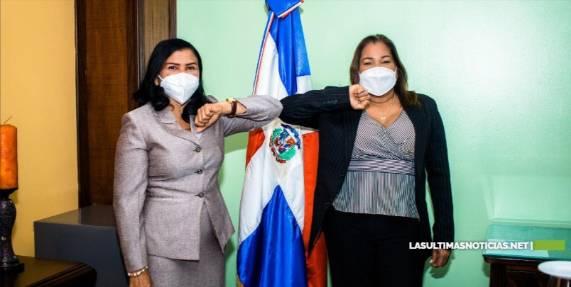 Vicealcaldesa SDE se reúne gobernadora Provincia Sto. Dgo; pide colaboración para desarrollar programas de género