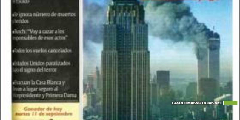 Hoy se cumplen 19 años del ataque a las torres gemelas, atentado que marcó el mundo
