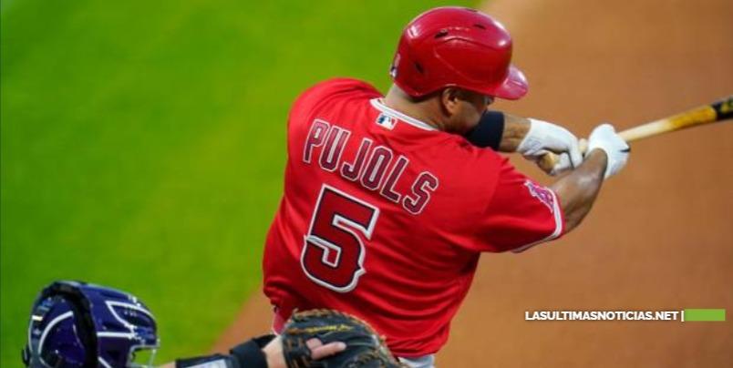"""Pujols: """"Es impresionante que mencionen mi nombre en la misma frase que Willie Mays"""""""