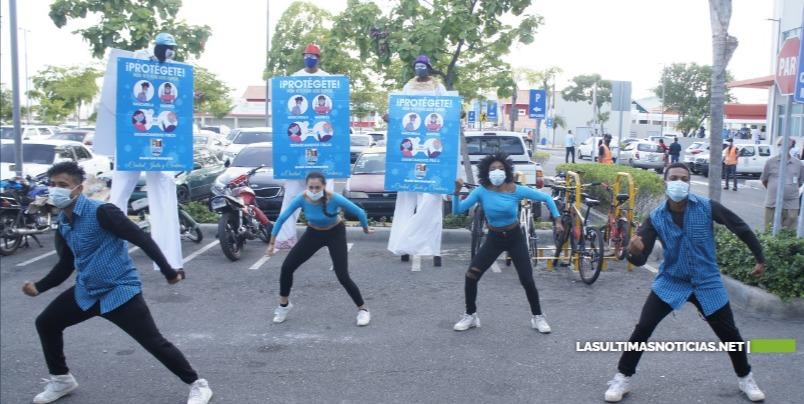 Ayuntamiento SDE inaugura primer parqueo del municipio para ciclovías
