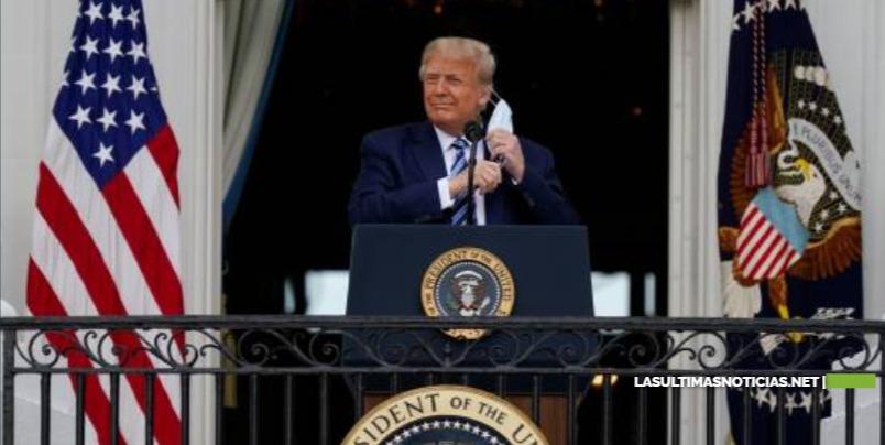 Donald Trump ha dado negativo para COVID-19 y no es contagioso, según su médico