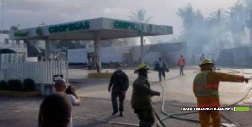 Muere niña herida por incendio en planta de gas de Santiago y suben a diez los fallecidos