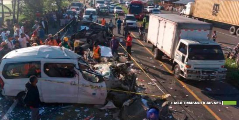 Muertes por accidentes de tránsito superan los muertos por COVID