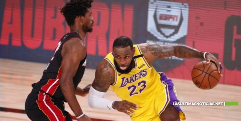 Los Lakers aplastan a los Heat en el arranque de las finales de la NBA