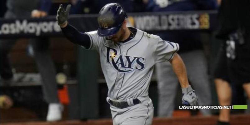 Los Rays de Tampa establecen marca de jonrones en postemporada
