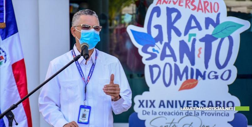 Alcalde Manuel Jiménez valora desarrollo de provincia SD