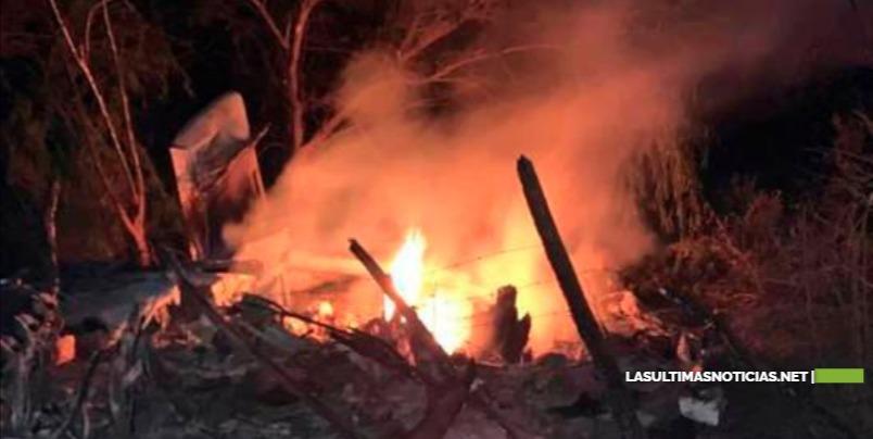 La avioneta cargada de drogas que se estrelló en Pedernales venía de Colombia