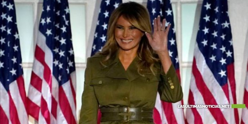 Melania Trump se despide como Primera Dama de Estados Unidos