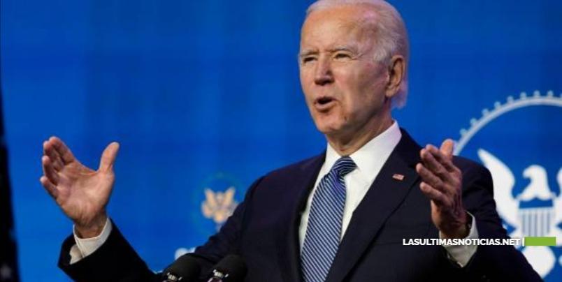 """Biden llama """"terroristas domésticos"""" a los asaltantes del Congreso"""