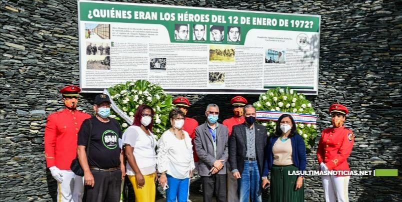 Ayuntamiento SDE  y Fundación Amaury Germán Aristy conmemoran 49 aniversario caída de Los Palmeros