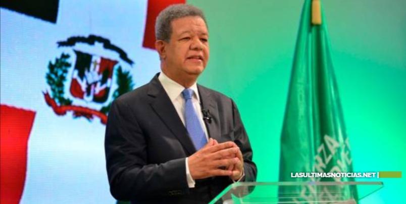 """Leonel Fernandez dijo que Luis Abinader debe explicar de dónde sacará recursos para hacer """"megaproyectos anunciados"""""""