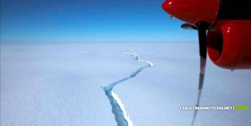 Se desprende un iceberg doce veces más grandes que el Distrito Nacional