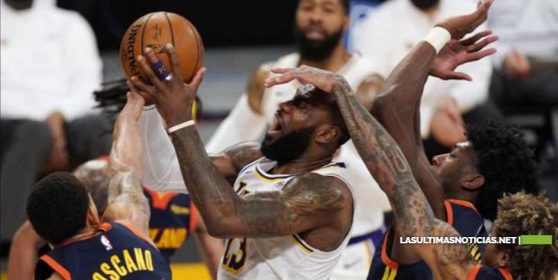LeBron James encabeza jugadores con más balones perdidos