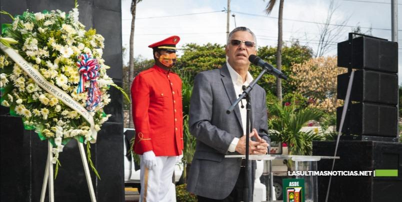 """Alcalde Manuel Jiménez: """"la mejor manera de homenajear a Duarte es combatiendo la corrupción y la impunidad"""""""