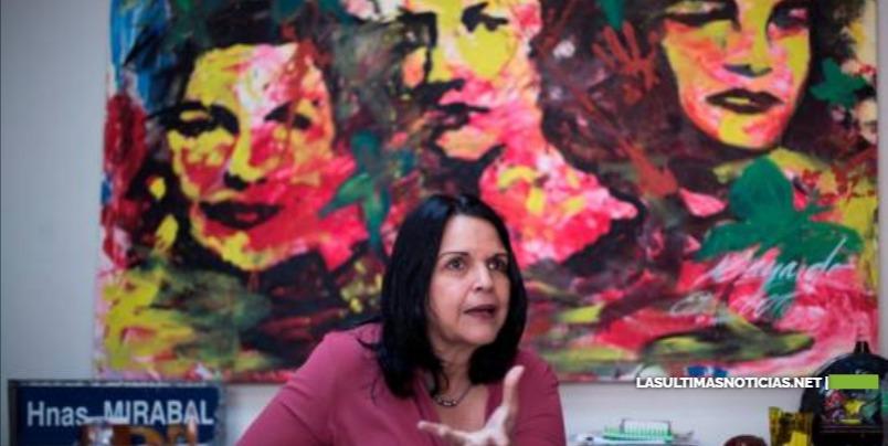 Minou Tavárez lamenta asesino de las hermanas Mirabal viviera impunemente en R.D.