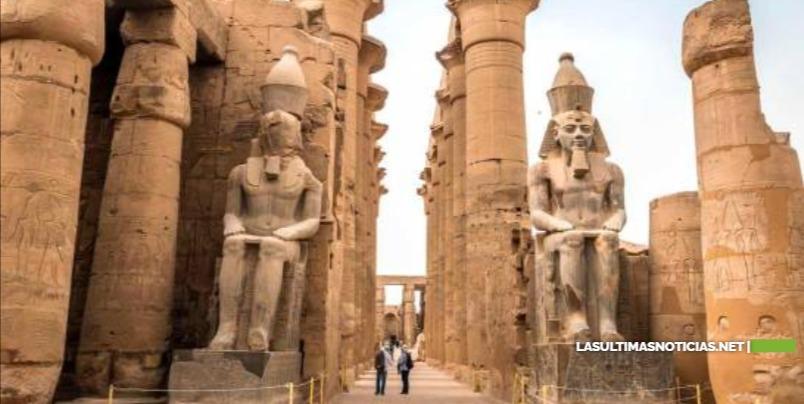 Encuentran bajo la arena una gran ciudad perdida de 3,000 años en Egipto
