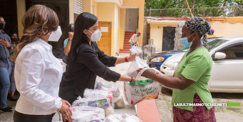 INABIE continuará entrega de alimentos crudos para cumplir con protocolo establecidos por las autoridades
