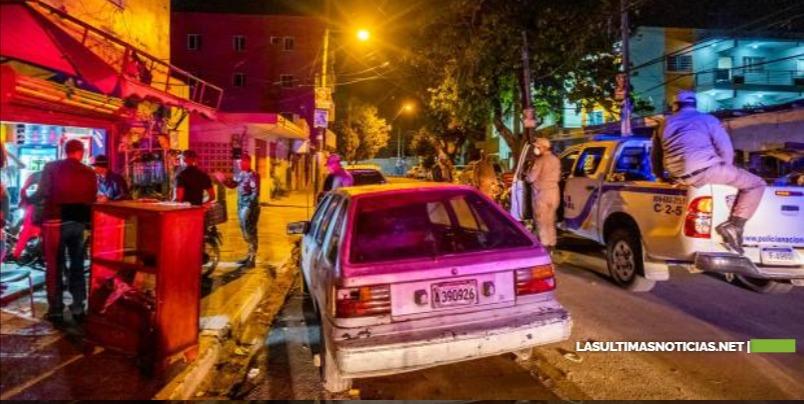 Toque de queda de 8:00 de la noche a 5:00 de la madrugada todos los días para el Gran Santo Domingo