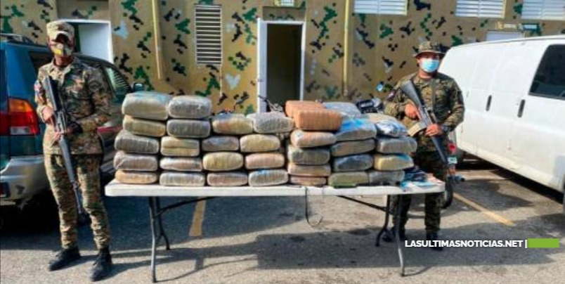 Apresan hombre con 581 libras de marihuana en San Juan