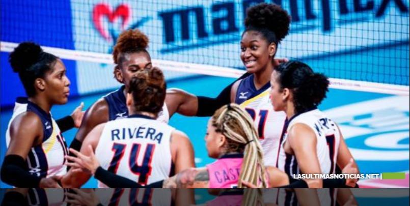 Las Reinas del Caribe de República Dominicana  vencen a Alemania en Liga de Naciones