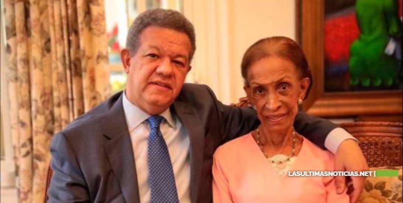Fallece la madre del expresidente Leonel Fernández