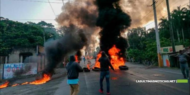 Protestan en comunidades de Espaillat , Duarte y otras
