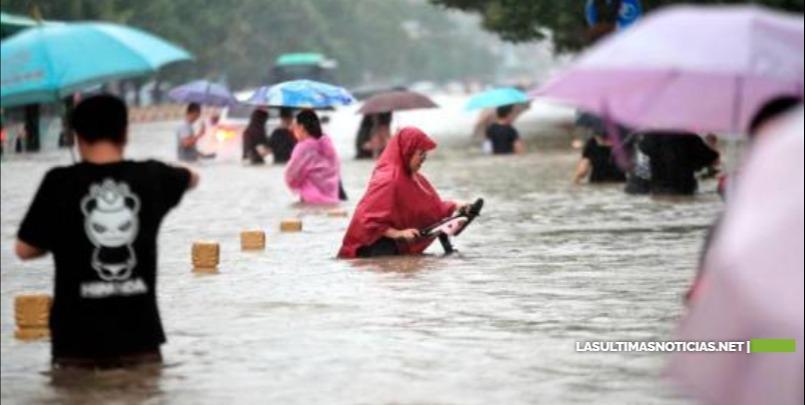 Ascienden a 33 los muertos y 8 los desaparecidos por inundaciones en China
