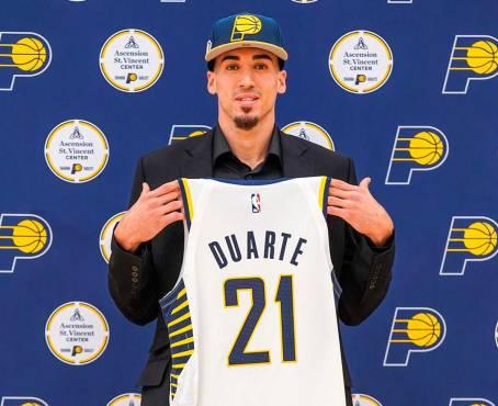 Warriors y Knicks siguen interesados en adquirir al jugador dominicano Chris Duarte