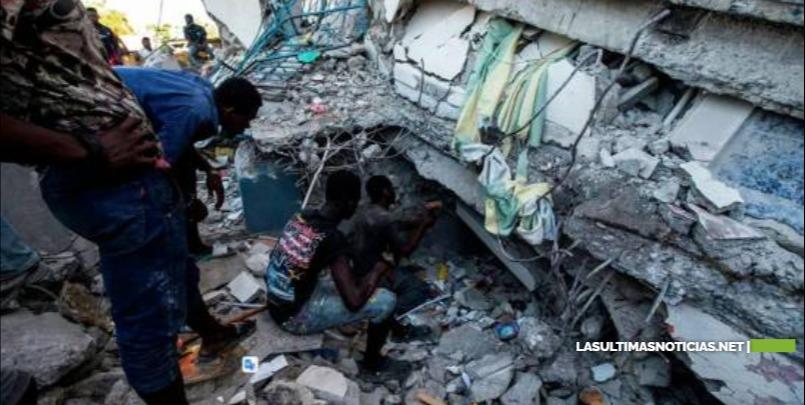 Muertos en Haití suben a 1,297 por el terremoto