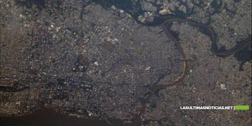 Cosmonauta ruso destaca la ciudad Santo Domingo con fotografía desde el espacio