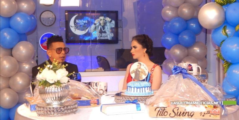Noches con Patty el programa lider del Cibao Presenta en Exclusiva a Tito Swing