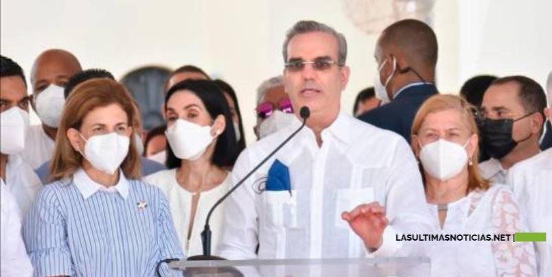 """Luis Abinader: """"Caiga quien caiga la Operación Falcón va a seguir"""", """"va a reinar la justicia"""""""