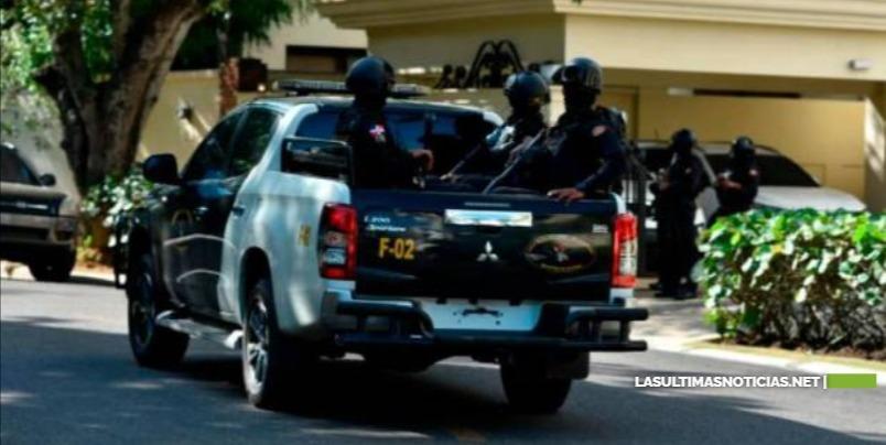 Continúan los allanamientos de la Operación Falcón en Moca