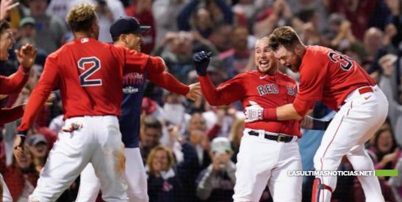 Los Medias Rojas de Boston ganan maratónico encuentro extendido a 13 entradas a los Rays de Tampa Bay